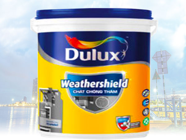 Dulux Weathershield Chất Chống Thấm (18 kg)